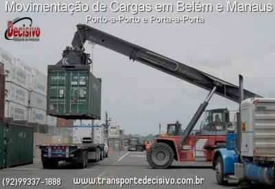 Operações Portuárias em Belém e Manaus - Transporte Decisivo